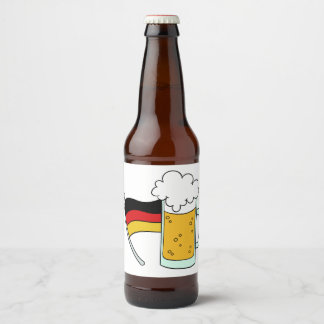 Oktoberfest bottle labels