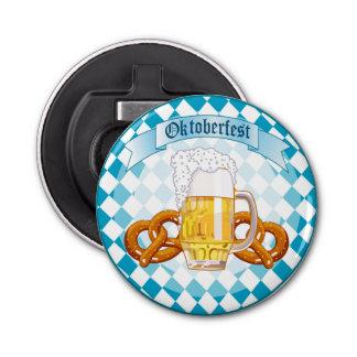 Oktoberfest Celebration Round Design Bottle Opener