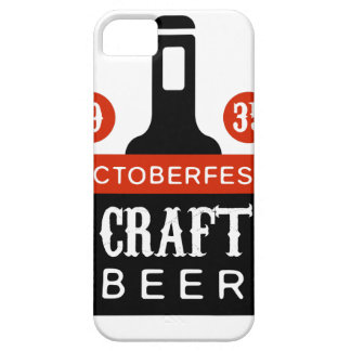 Oktoberfest Craft Beer Logo Design Template iPhone 5 Cover