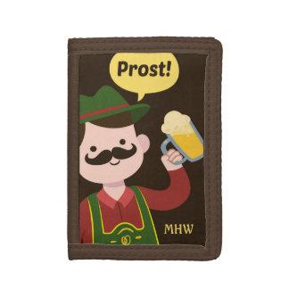 Oktoberfest custom monogram wallets
