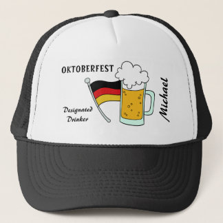 Oktoberfest custom name & text hats