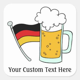 Oktoberfest custom text stickers
