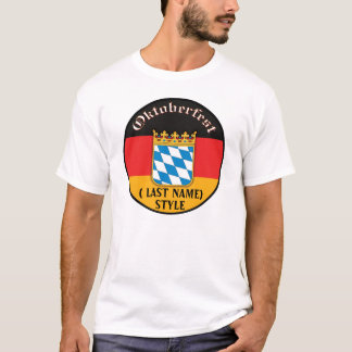 Oktoberfest Customizable T-Shirt