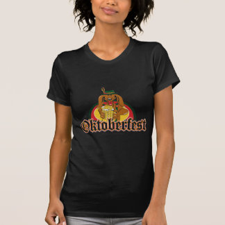 Oktoberfest Doxie Beer Tee Shirt