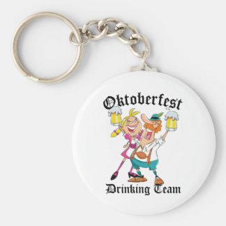 Oktoberfest Drinking Team Keychain