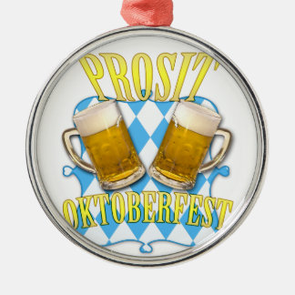 Oktoberfest, famous beer festival in Munich Metal Ornament