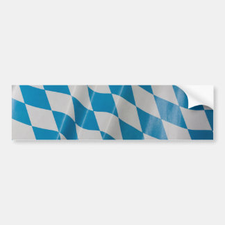 Oktoberfest Flag Colors Bavaria Bayern Bumper Sticker