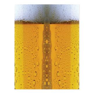Oktoberfest Foaming Beer Postcard