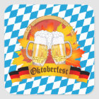 Oktoberfest German Beer Festival Square Sticker