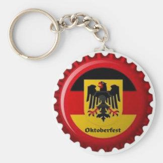 OKTOBERFEST GERMAN BOTTLECAP DESIGN KEYCHAIN