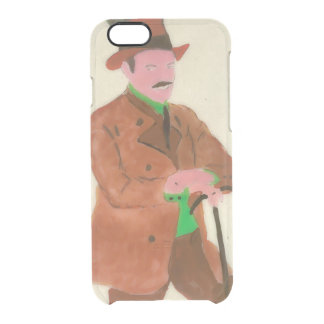 Oktoberfest German Gent Clear iPhone 6/6S Case