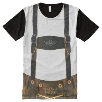 Oktoberfest German Lederhosen All-Over-Print T-Shirt