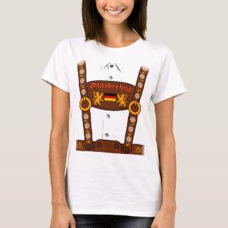 Oktoberfest German Lederhosen T-Shirt