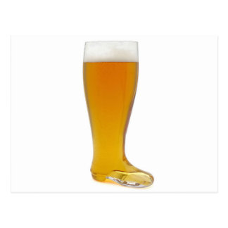oktoberfest-glass-beer-boot postcard