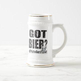 Oktoberfest Got Bier! Beer Stein