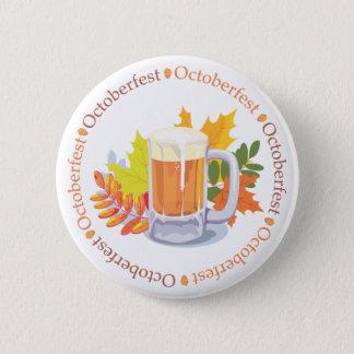 Oktoberfest in the Round 2 Inch Round Button