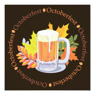 Oktoberfest in the Round Invitation