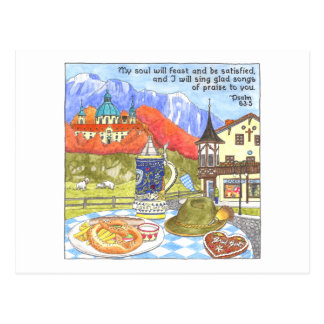 Oktoberfest Inspirational Postcard