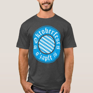 Oktoberfest O'zapft Is Germany Bavarian T-Shirt