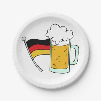 Oktoberfest paper plates