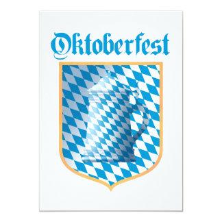 Oktoberfest Party, Bayern Colors Card