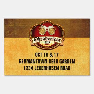 Oktoberfest Party Custom Date and Location