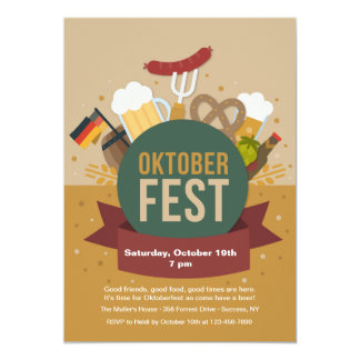 Oktoberfest Party Invitation
