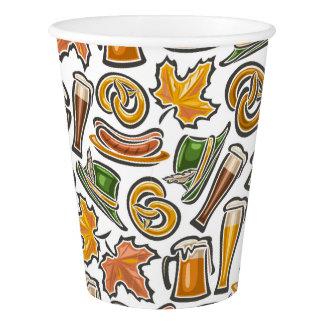 Oktoberfest Party Paper Cups