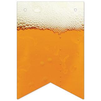 Oktoberfest. Real Beer Suds. Bunting Flags