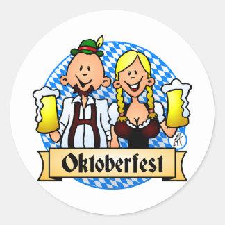 Oktoberfest Round Sticker