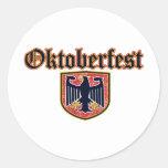 Oktoberfest Shield Stickers