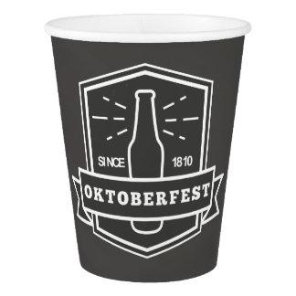 Oktoberfest Street Festival on Chalkboard Paper Cup