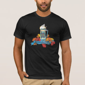 Oktoberfest T-Shirts with Beer Stein and banner
