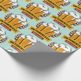 Oktoberfest wrapping paper