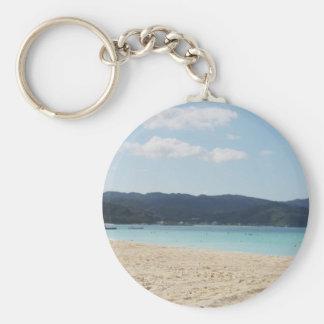Okuma Beach Keychain
