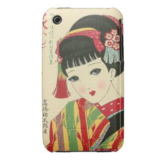 Okura Anime Japanese Beauty Blackberry Curve Case Case-Mate iPhone 3 Case