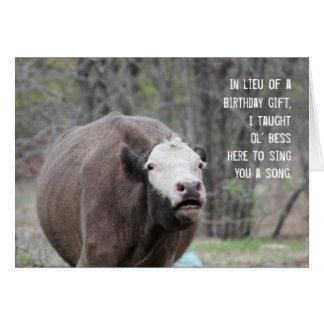 Ol' Bess Birthday Card