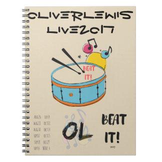 OL Official  Tour merch Notebook! Notebooks