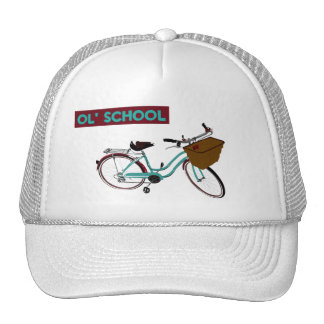 Ol' School Marychui Beach Cruiser Trucker Hat