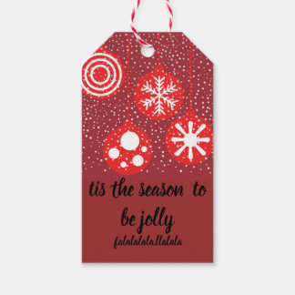 OL Xmas//Gift Tags With Twine 10pc