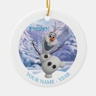 Olaf a personnalisé décoration pour sapin de noël
