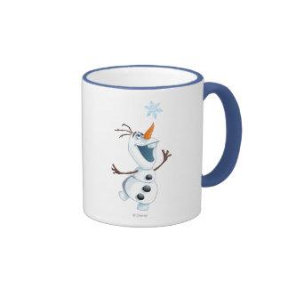 Olaf - ami de tempête de neige mug ringer