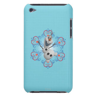 Olaf avec le cadre de coeur coque iPod Case-Mate