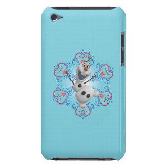 Olaf avec le cadre de coeur coques barely there iPod