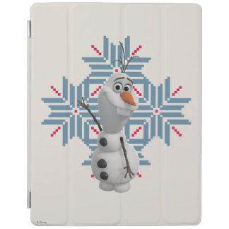 Olaf | Blue Snowflake iPad Cover