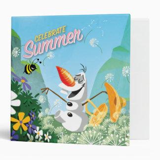 Olaf Celebrate Summer 3 Ring Binder