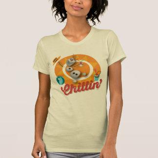 Olaf | Chillin' in Orange Circle T-Shirt
