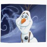 Olaf - Cool Little Hero Vinyl Binder
