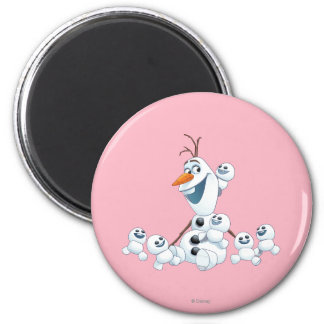 Olaf | Gift of Love 2 Inch Round Magnet
