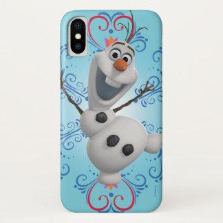 Olaf | Heart Frame iPhone X Case